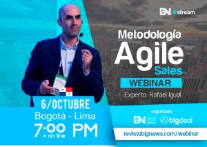 Webinar de Agile Sales por Rafa Igual
