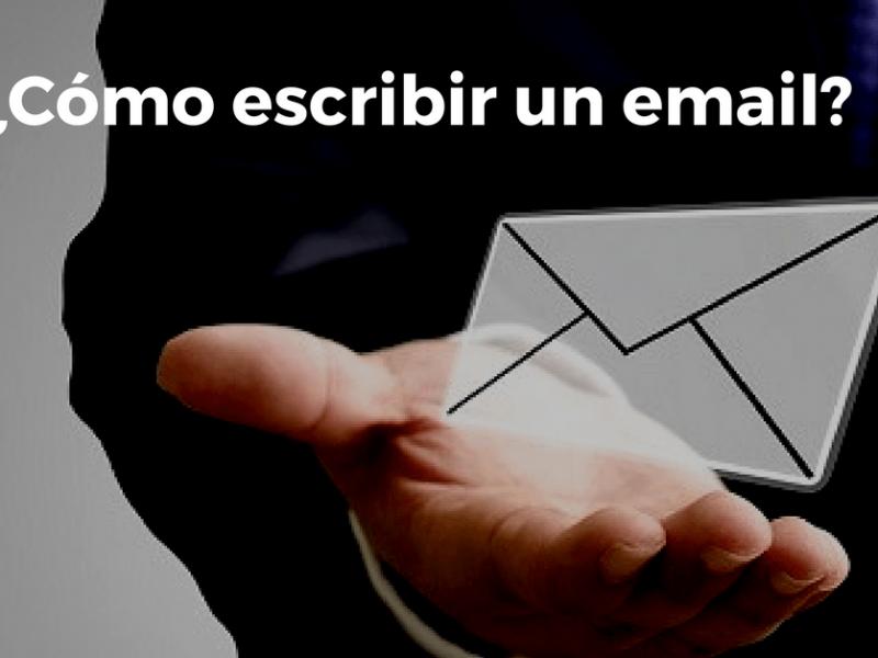 Como escribir un correo electronico