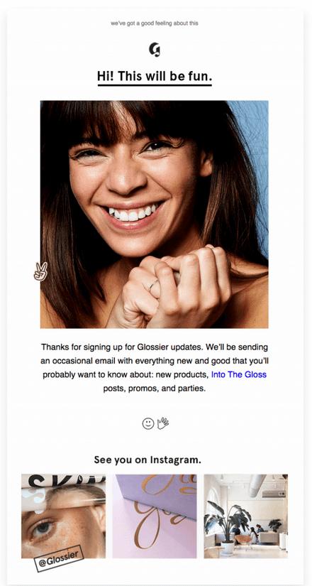 email marketing persuasivo liking
