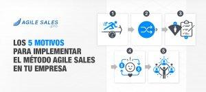 5 motivos para implementar el método agile sales