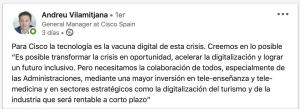 Andreu Vilamitjana Digital Coach