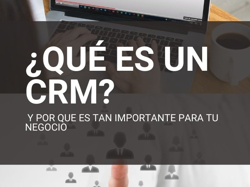En este vídeo te quiero explicar qué es un CRM, para qué lo puedes utilizar en tu negocio y cómo puedes ponerlo en marcha