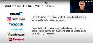 El social selling se puede hacer en muchas redes sociales
